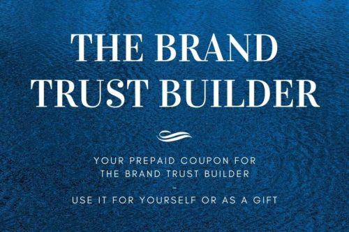 Your prepaid coupon for The Brand Trust Builder
