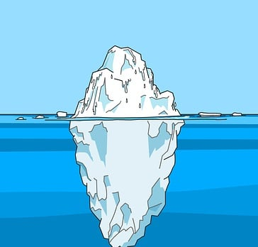 Missed communications opportunities are like an iceberg