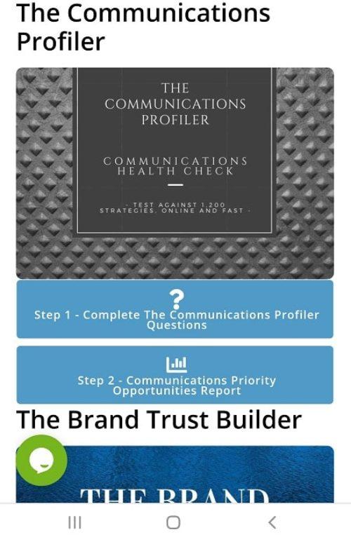 The Communications Profiler